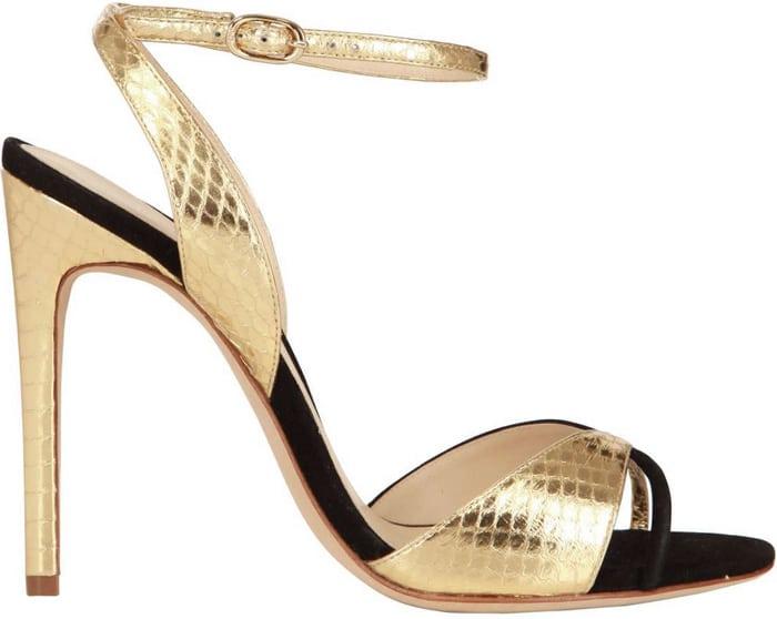 Alexandre-Birman-gold-sandal