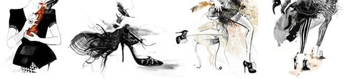 Bionda-Castana-sketches