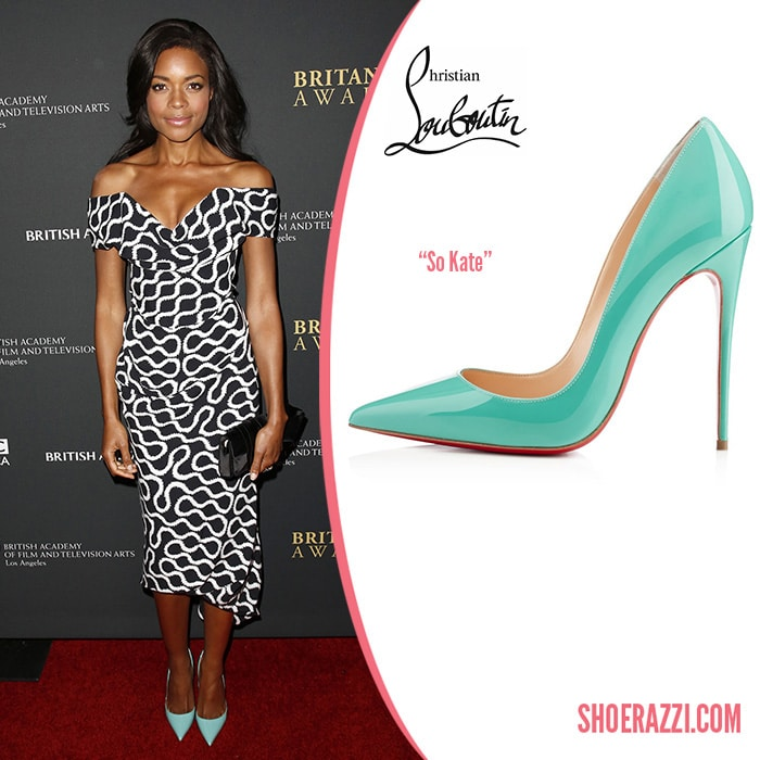 Christian-Louboutin-So-Kate-aquamarine-pumps-Naomie-harris