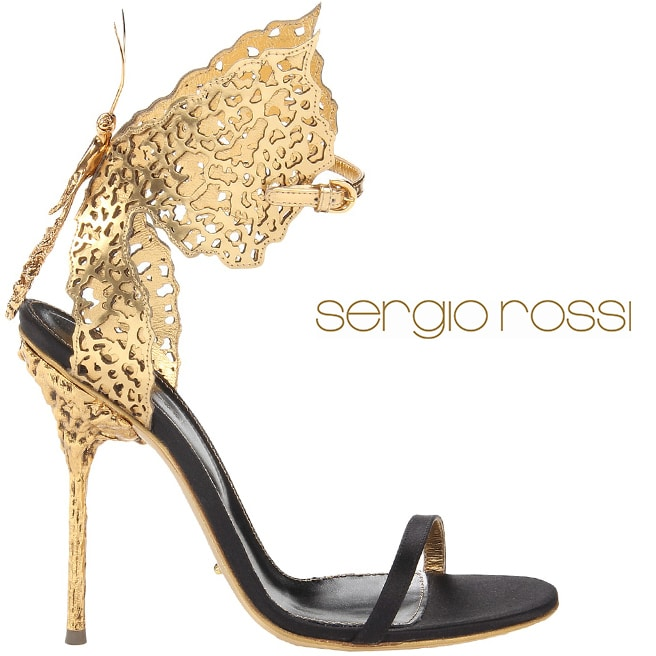 Sergio-Rossi-golden-sandal-butterfly-ankle-strap-Cruise-2014-shoes