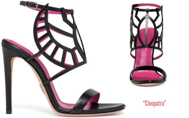 Oscar-Tiye-Cleopatra-leather-laser-cut-sandal-Spring-2014