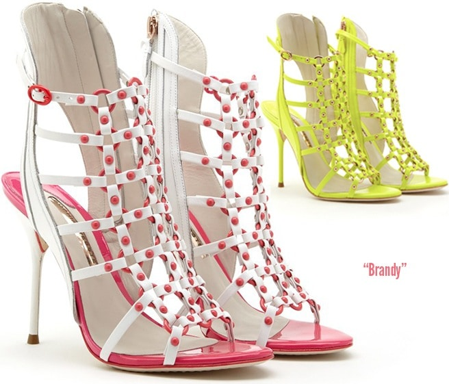 Sophia-Webster-Brandy-leather-cage-strapy-sandal-Spring-2014