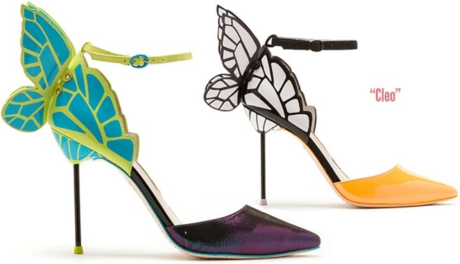 Sophia-Webster-Cleo-Spring-2014-butterfly-pump