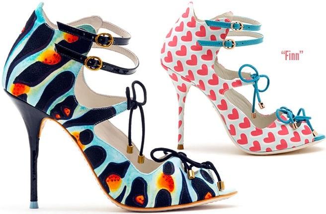 Sophia-Webster-Finn-strappy-sandal-Spring-2014