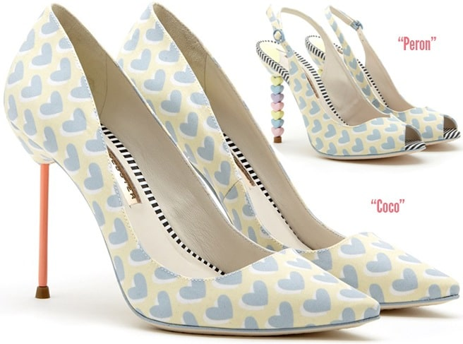 Sophia-Webster-heart-printed-Coco-pumps-Spring-2014-Peron-slingback