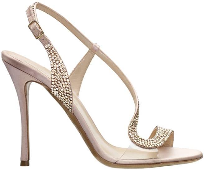 Nicholas Kirkwood crystal embellished sandal