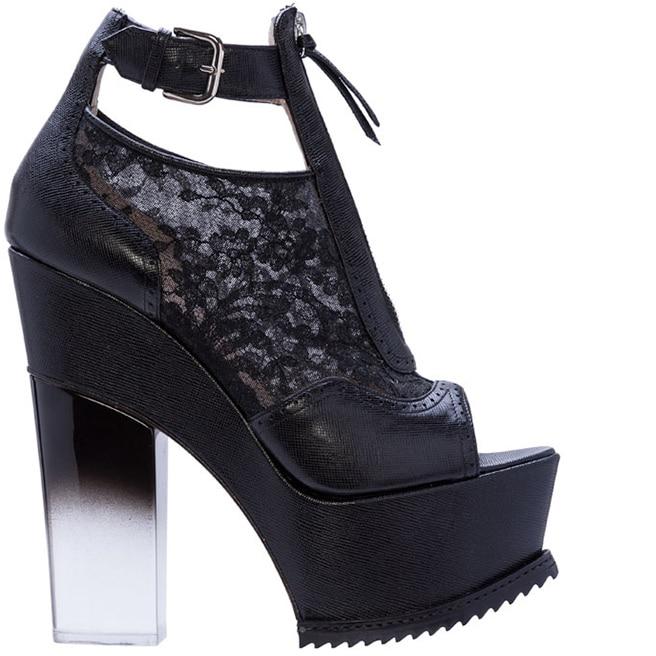 Nicholas Kirkwood for Erdem platform shoe