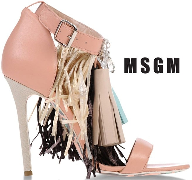 MSGM-Tassel-Embellished-Leather-Ankle-Strap-Sandal-SHOP