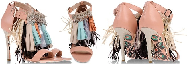 MSGM-Tassel-Embellished-Leather-Ankle-Strap-Sandals