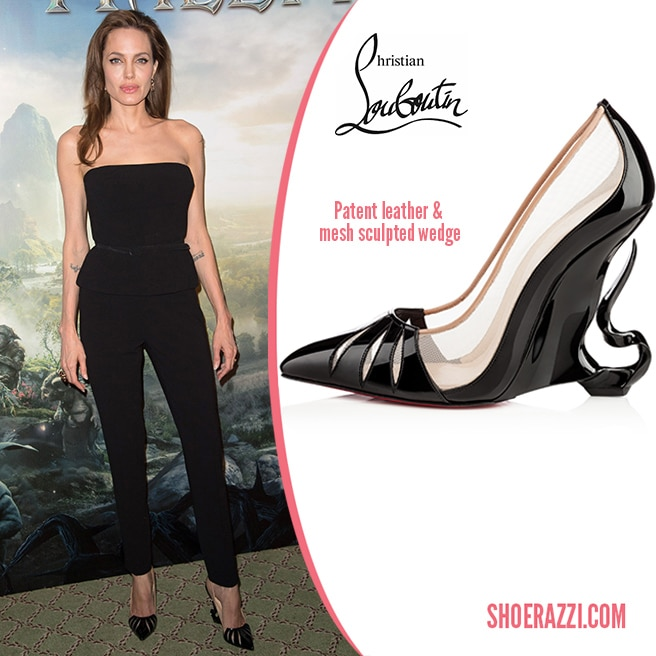 Christian-Louboutin-custom-sculpted-wedges-for-Angelina-Jolie