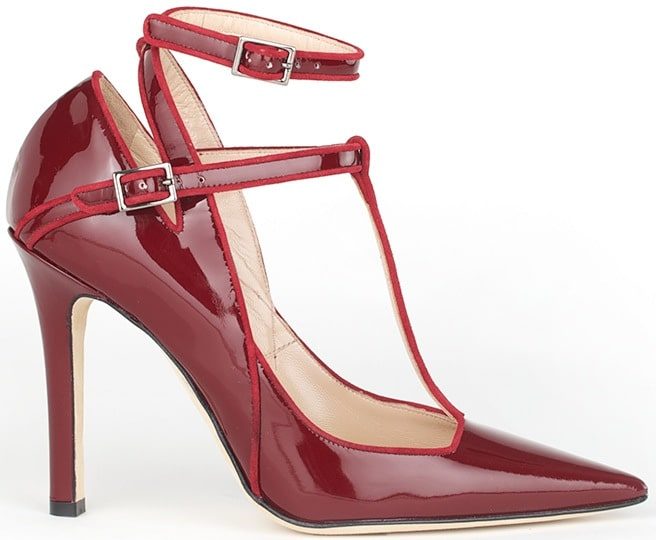 henri-lepore-dezert-Fall-2014-carmela-red-leather