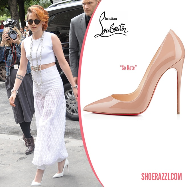 Christian-Louboutin-So-Kate-White-Leather-Pump-Kristen-Stewart