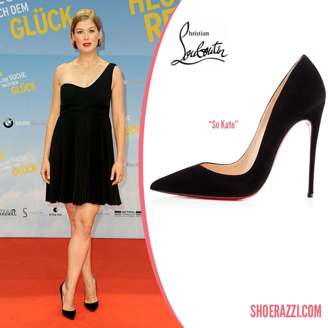 Christian-Louboutin-So-Kate-Black-Suede-Pump-Rosamund-Pike