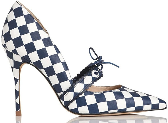 Bionda-Castana-Pump-LK-Bennett-checkered-shoe