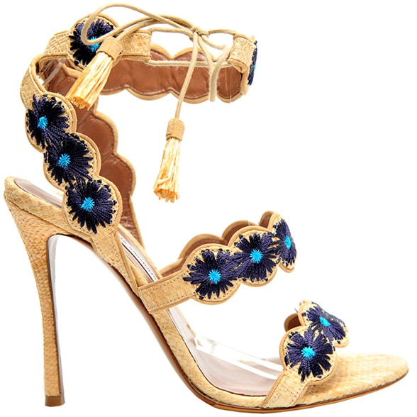 Tabitha-Simmons-raffia-embroidered-sandal-Spring-2016
