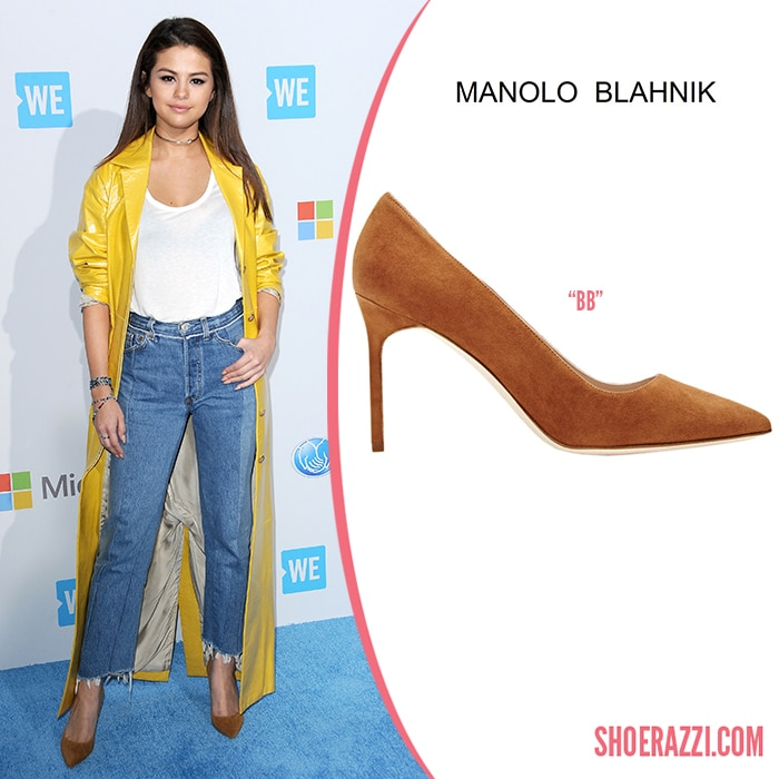 Manolo-Blahnik-BB-Pump-Selena-Gomez-ShoeRazzi