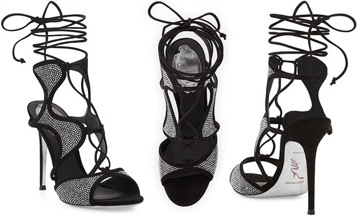 Rene-Caovilla-crystal-embellished-sandal-Spring-2016-designer-shoes