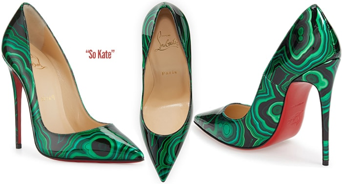 classic fit c23d0 94455 Christian Louboutin Pre-Fall 2016 So Kate Marbled Pumps ...