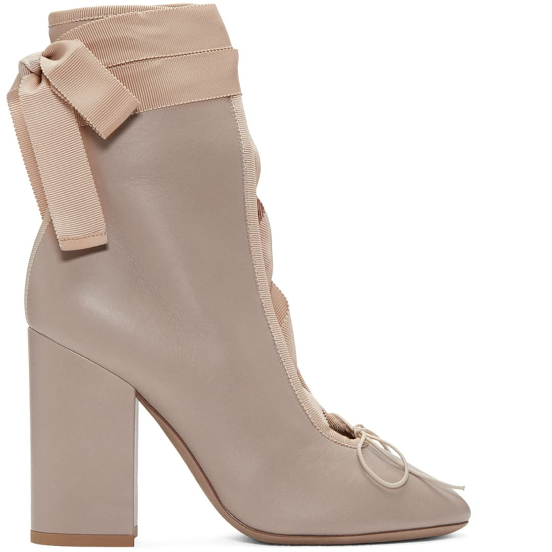 valentino-beige-lace-up-ballerina-boots