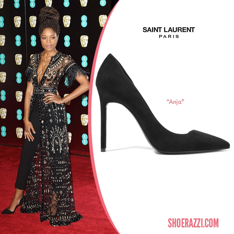 Saint Laurent Anja d'Orsay Pump Naomie Harris