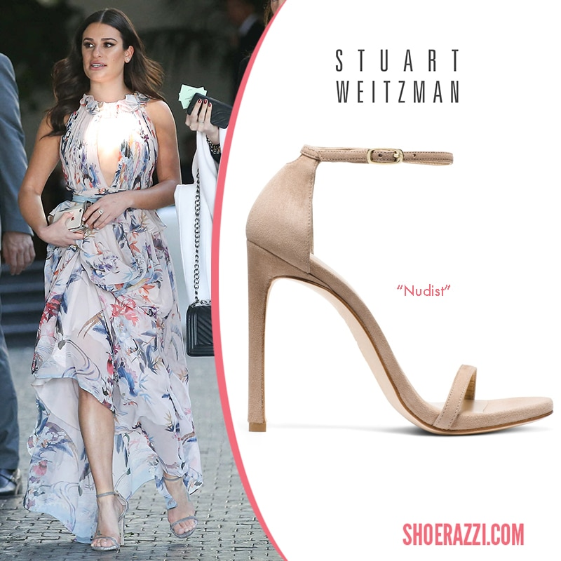Stuart Weitzman Nudist Sandal Lea Michele