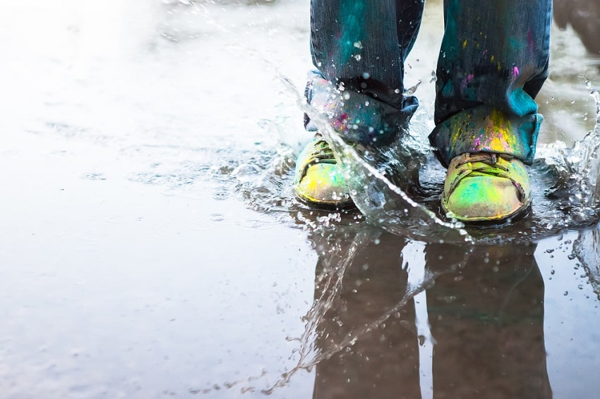 How to Get Paint Off Shoes