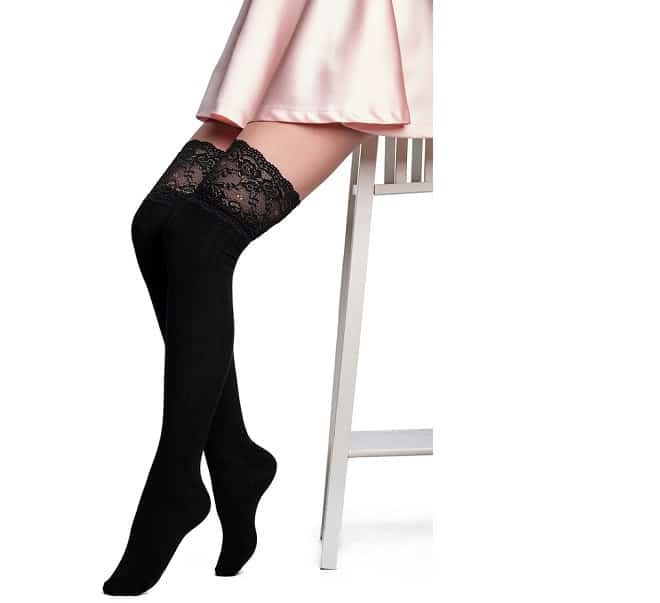 What Shoes to Wear with Thigh-High Socks