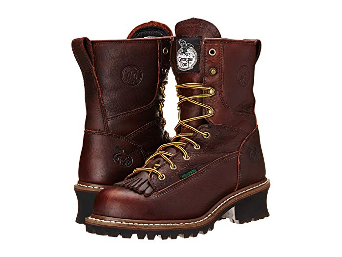 Georgia Boot Logger 8 Waterproof ST Removable Kiltie