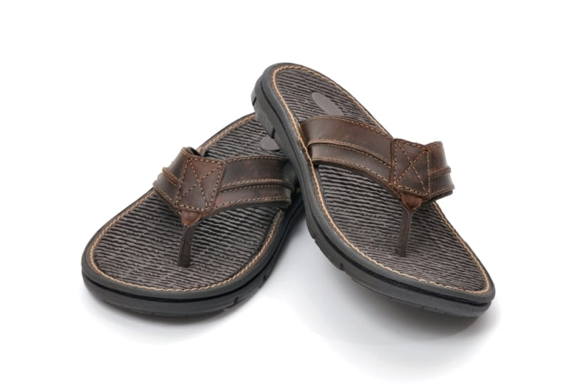 Best Leather Flip Flops