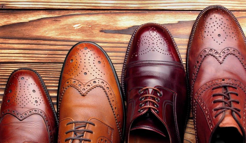 types of formal shoes for men
