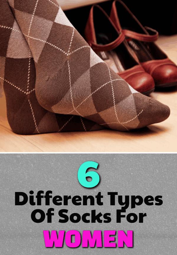 different types of socks for women